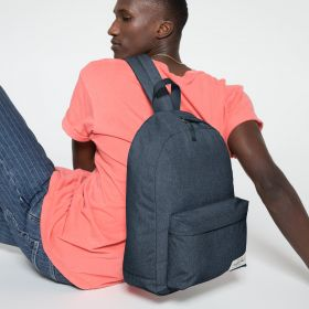 Padded Sling'r Muted Blue Backpacks by Eastpak - view 5