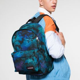 Out Of Office Dark Ray Backpacks by Eastpak - Front view