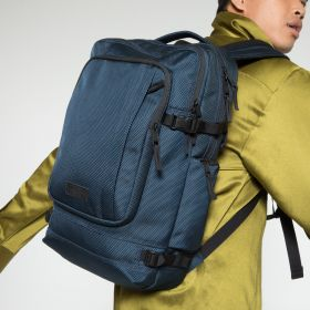 Tecum L CNNCT Navy Backpacks by Eastpak - view 5
