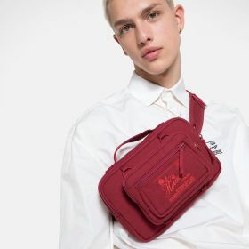 Raf Simons Waistbag Loop Burgundy