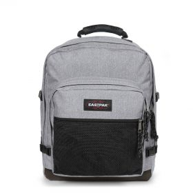Ultimate Sunday Grey Backpacks by Eastpak - Front view