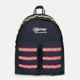 White Mountaineering Doubl'r Navy Backpacks by Eastpak - Front view