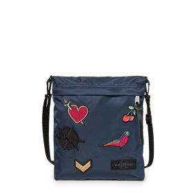 Lux Bellish Blue Shoulderbags by Eastpak - Front view