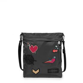 Lux Bellish Black Shoulderbags by Eastpak - Front view
