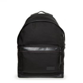Padded Select Black Nylon Backpacks by Eastpak - Front view