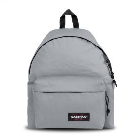 Padded Pak'r® Metallic Silver Backpacks by Eastpak - Front view