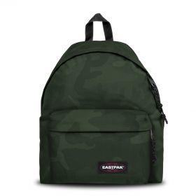 Padded Pak'r® Tonal Camo Khaki Backpacks by Eastpak - Front view