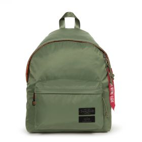 Padded Pak'r® Alpha Dark Green Backpacks by Eastpak - Front view