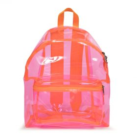 Padded Pak'r® Fluo Pink Film Backpacks by Eastpak - Front view