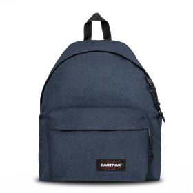 Padded Pak'r® Double Denim Backpacks by Eastpak - Front view