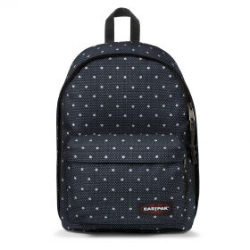 Out Of Office Little Dot Backpacks by Eastpak - Front view