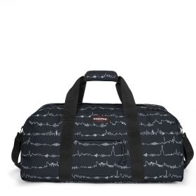 Station + Beat Black Luggage by Eastpak - Front view