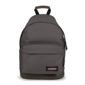 Wyoming Simple Grey Backpacks by Eastpak - Front view