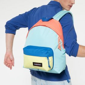 Padded Travell'r Blocked Blue Backpacks by Eastpak - view 13