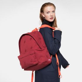 Raf Simons Padded Loop Burgundy Orange Backpacks by Eastpak - view 15
