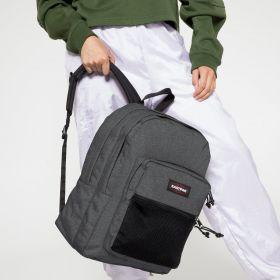 Pinnacle Black Denim Backpacks by Eastpak - view 2