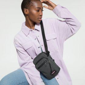 Double One Black Denim Shoulderbags by Eastpak - view 2