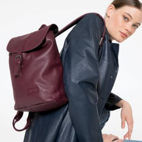 Casyl Wine Leather Backpacks by Eastpak - view 2