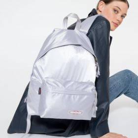 Padded Pak'r® Satin Silver Backpacks by Eastpak - view 2