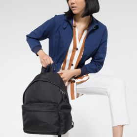 Padded Pak'r® Constructed Black Backpacks by Eastpak - view 2