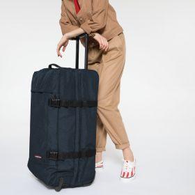 Tranverz L Triple Denim Luggage by Eastpak - view 2