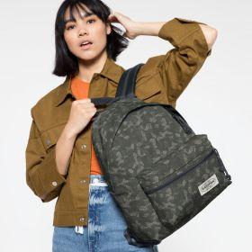 Padded Zippl'r Camo'ed Dot Backpacks by Eastpak - view 2