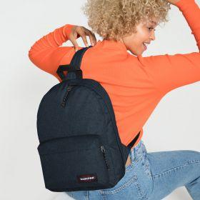 Padded Sling'r Triple Denim Backpacks by Eastpak - view 2
