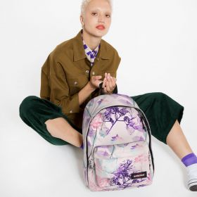 Out Of Office Pink Ray Backpacks by Eastpak - view 2