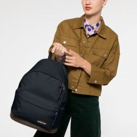 Wyoming Cloud Navy Backpacks by Eastpak - view 2