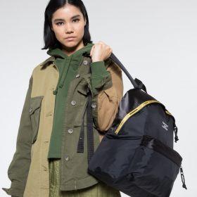 NBHD Padded Black Backpacks by Eastpak - view 2