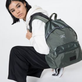 NBHD Padded Olive Backpacks by Eastpak - view 2