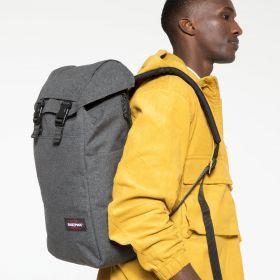 Bust Black Denim Backpacks by Eastpak - view 5
