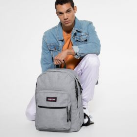 Pinnacle L Sunday Grey Backpacks by Eastpak - Front view