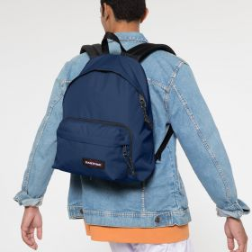 Padded Travell'r Gulf Blue Backpacks by Eastpak - view 5