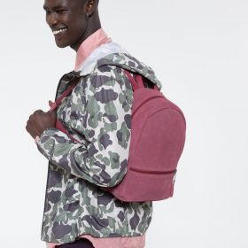 Lucia M Suede Merlot Backpacks by Eastpak - view 5