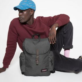 Austin Black Denim Backpacks by Eastpak - view 5