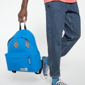 Padded Pak'r® Into Nylon Blue Backpacks by Eastpak - view 5
