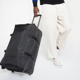 Tranverz M Constructed Mono Black Luggage by Eastpak - view 5