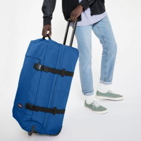 Tranverz L Mediterranean Blue Luggage by Eastpak - view 5