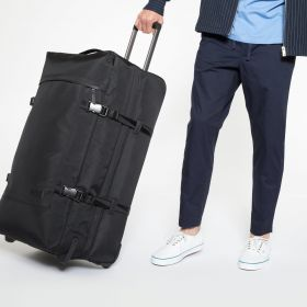 Tranverz L Constructed Mono Black Luggage by Eastpak - view 5