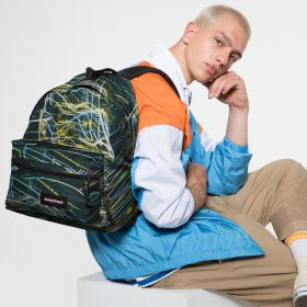 Padded Zippl'r Blurred Lines Backpacks by Eastpak - view 5