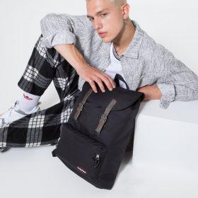 London Black Backpacks by Eastpak - view 5