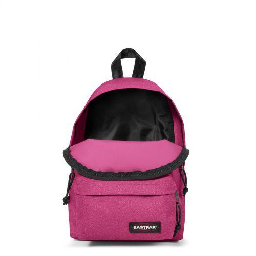 Orbit Spark Pink Backpacks by Eastpak