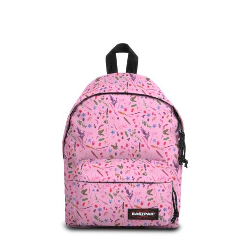 Orbit Herbs Pink Backpacks by Eastpak