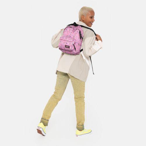 Orbit Herbs Pink Backpacks by Eastpak - view 15