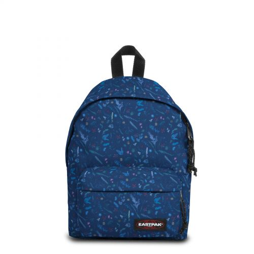 Orbit Herbs Navy Backpacks by Eastpak