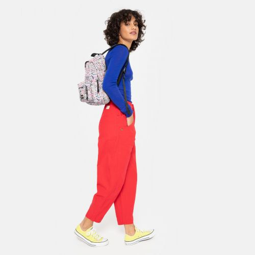 Orbit Herbs White Backpacks by Eastpak
