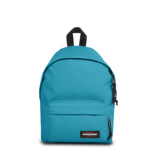 Orbit Soothing Blue Backpacks by Eastpak