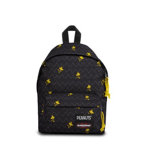 Orbit Peanuts Woodstock with keychain Backpacks by Eastpak - view 1