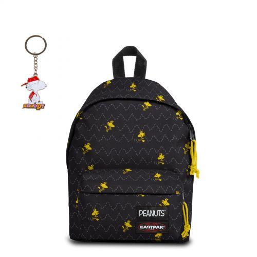 Orbit Peanuts Woodstock with keychain Backpacks by Eastpak - view 11